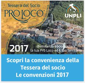 Tessera socio Proloco 2017